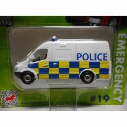 MERCEDES-BENZ SPRINTER VAN POLICE n19 CORGI TOYS TY669