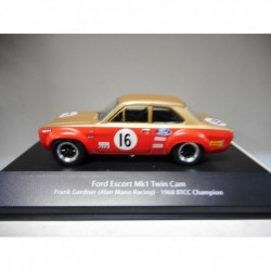 FORD ESCORT MK1 F.GARDNER 1968 BTCC CHAMPION BRITISH TOURING ATLAS n01 1:43