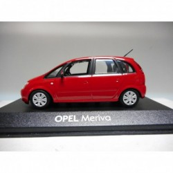 OPEL MERIVA RED MINICHAMPS 1:43