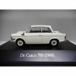De CARLO 700 BMW 700 1960 CLASICOS ARGENTINA SALVAT 1:43