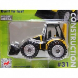 BACKHOE LOADER YELLOW n31 CORGI TOYS TY669