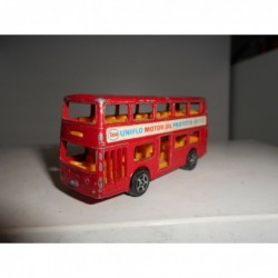 DAIMLER FLEETLINE LONDON DOUBLE DECKER CORGI JUNIORS WHIZZWHEELS