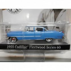 CADILLAC FLEETWOOD SERIES 60 BLUE 1955 ELVIS PRESTLEY HOLLYWOOD GREENLIGHT 1/64