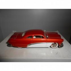 FORD CUSTOM COUPE 1950 TANGERINE & WHITE DESIGN STUDIO DS-108 1:43