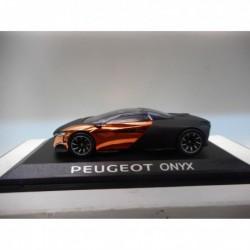 PEUGEOT ONYX CONCEPT CAR DEALER PEUGEOT NOREV 1:43