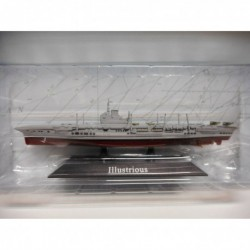 PORTAAVIONES WARSHIP HMS ILLUSTRIOUS 1940-55 1:1250 ATLAS De AGOSTINI n8