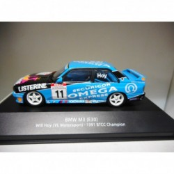 BMW M3 E30 WILL HOY 1991 BTCC CHAMPION BRITISH TOURING ATLAS n02 1:43
