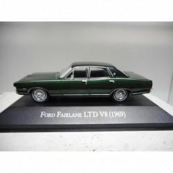 FORD FAIRLANE LTD V8 1969 CLASICOS ARGENTINA SALVAT 1:43