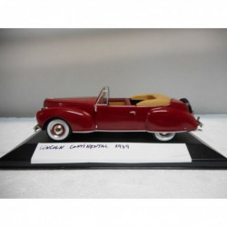 LINCOLN CONTINENTAL 1939 CLASSIC CARS ALTAYA IXO 1:43