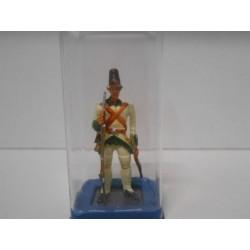 MD 004 REGIMIENTO ESPAÑA 1784 EJERCITO ESPAÑA LEAD SOLDIER 6 CM HIGH