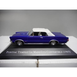 PONTIAC TEMPEST LE MANS GTO CONVERTIBLE 1965 AMERICAN CARS ALTAYA IXO 1:43