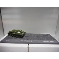 TANK SU-85 USSR WW II SALVAT 1:72