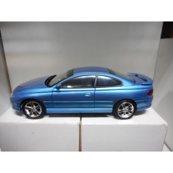 PONTIAC GTO 2004 BLUE AUTO WORLD 1:18