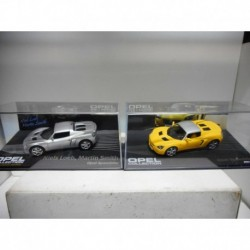 OPEL SPEEDSTER YELLOW SILVER 2000-05 EAGLEMOSS IXO 1:43