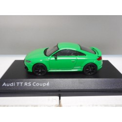 AUDI TT RS COUPE GREEN I-SCALE DEALER 1:43