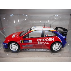 CITROEN XSARA WRC RALLY GERMANY 2005 LOEB ALTAYA IXO 1:18
