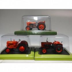FARMER TRACTOR FIAT SOMECA 40-H SOM 35 DA50L HACHETTE 1:43