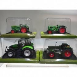 FARMER TRACTOR DEUTZ FAHR AGROTN TTV D130 06 D25 3005 HACHETTE 1:43