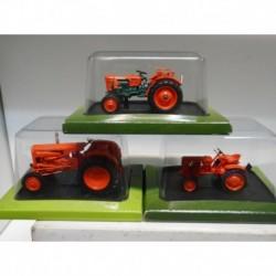 FARMER TRACTOR VENDEUVRE BL 30 SUPER GG70 BOB 500 HACHETTE 1:43