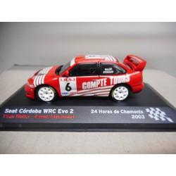 SEAT CORDOBA WRC EVO2 24H CHAMONIX 2003 MULLER ALTAYA IXO 1:43