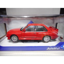 BMW E30 M3 RED SOLIDO 1:18