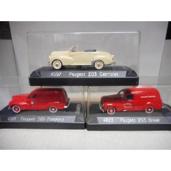 PEUGEOT 203 CABRIO/BREAK 1:43 SOLIDO ESCOGER/CHOISIR/CHOOSE