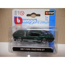 FORD MUSTANG GT 1967 BBURAGO 1.64