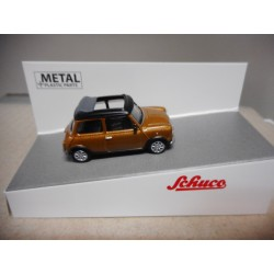 MINI COOPER BROWN MET SCHUCO 1:64