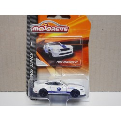 FORD MUSTANG GT RACING CARS MAJORETTE 1:64