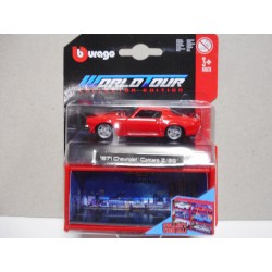 CHEVROLET CAMARO Z/28 1971 WORLD COLLECTOR BBURAGO 1:64