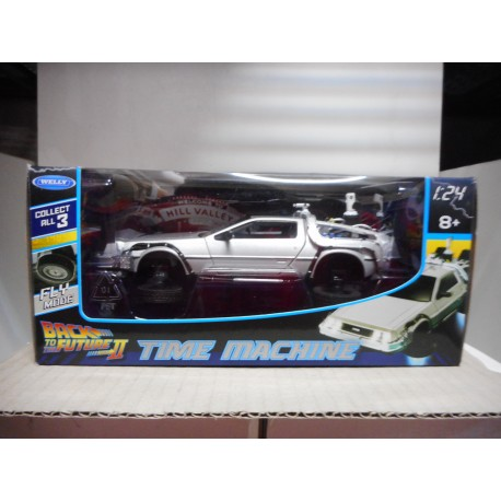 DELOREAN TIME MACHINE BACK TO THE FUTURE II WELLY 1/24