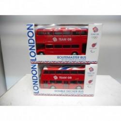 ROUTEMASTER BUS TEAM GB DOUBLE DECKER TEAM GB LONDON 2012 SOUVENIRS CORGI 1:120