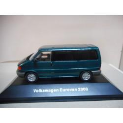 VOLKSWAGEN T4 EUROVAN 2000 VW MEXICO DeAGOSTINI IXO 1:43
