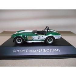 SHELBY COBRA 427 S/C 1964 FEINSTEIN RACING AMERICAN CARS 1:43 ALTAYA IXO